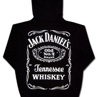 Jack Daniels Men's Daniel's Logo Hooded Sweatshirt