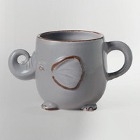 Gray Elephant Mug | World Market