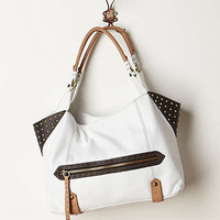 Anthropologie - Studded Leather Hobo