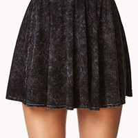 No-Fuss Mineral Wash Skater Skirt