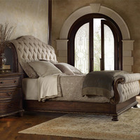 Adagio Queen Size Tufted Bed