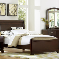 Thatcher Twin Size Sleigh Bed