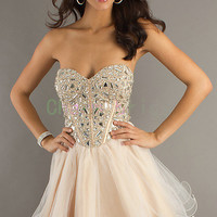 Sell well Rhinestone Prom Dresses Homecoming Dresses Quinceanera Dresses cheap prom dress Coctail Dress