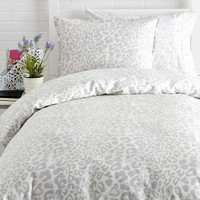 Snow Leopard Duvet Set