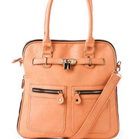 Soho Lock Expandable Tote