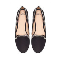 CHAIN SLIPPER - Flat shoes - Shoes - TRF | ZARA United States