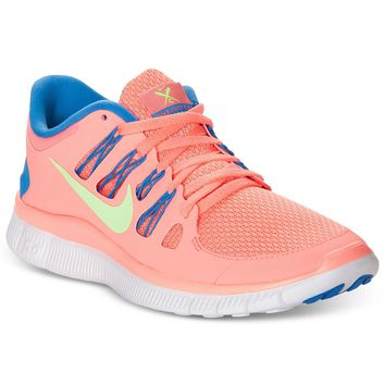 Nike Women's Shoes, Free 5.0+ Sneakers - Finish Line Athletic Shoes - Shoes - Macy's