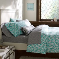 Damask Duvet Cover + Pillowcases