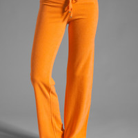 Juicy Couture Terry Original Leg Pant in Tangerine from REVOLVEclothing.com