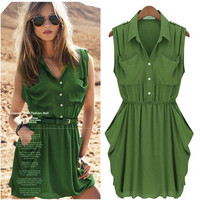 Trendy Chiffon Dress for Summer