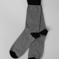 Richer Poorer USA Made Stripe Socks - Black