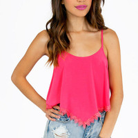 Lilah Trimmed Crop Top $26