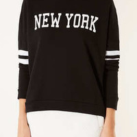 Tall New York Motif Sweat - Tall  - Clothing