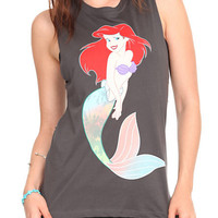 Disney The Little Mermaid Muscle Girls T-Shirt 2XL | Hot Topic