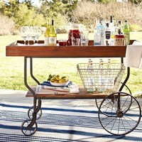 Tavern Bar Cart | Pottery Barn