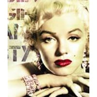 Marilyn Monroe Glamour Color Poster