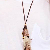 Love Child - Feathers Necklace - NEW - SALE