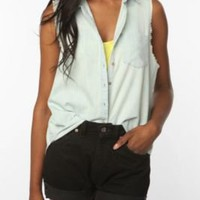 UrbanOutfitters.com > BDG Sleeveless Chambray Shirt