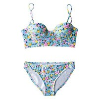 Xhilaration¨ Junior's Floral Midkini 2-Piece Swimsuit