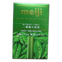 Meiji Rich Chocolate -- Green Tea