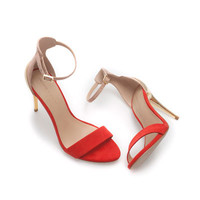 COMBINATION HIGH HEEL SANDAL - Shoes - Woman | ZARA United States