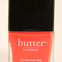 Butter London Jaffa Coral Nail Lacquer