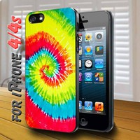 Beach Towel Black Case for iphone 4 / 4s
