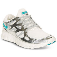 Nike Women's Shoes, Free Run+ 2 Premium EXT Sneakers - Finish Line Athletic Shoes - Shoes - Macy's