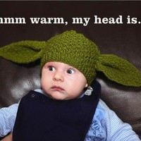 Baby Yoda beanie  Star Wars 69 months by knitterkrys on Etsy
