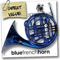 BLUE Bb/F Double FRENCH HORN - Highest Quality - NEW!