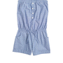 Dobby Chambray Romper