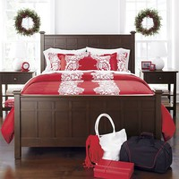 Brighton Coffee King Bed in Beds, Headboards | Crate and Barrel