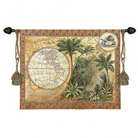 Fine Art Tapestries Global Safari II Tapestry - Tina Chaden - 2991-WH - All Wall Art - Wall Art & Coverings - Decor