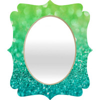 DENY Designs Home Accessories | Lisa Argyropoulos Sea Breeze Quatrefoil Mirror