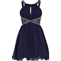 Navy Little Mistress embellished prom dress - branded dresses - dresses - women