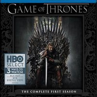 Game of Thrones: The Complete First Season [7 Discs] [Includes Digital Copy] [Blu-ray.DVD] - Blu-ray Disc