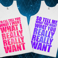 Spice Girls BFF Tanks