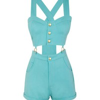 Chi-Chi Heart Cutout Playsuit | LashesofLondon.com
