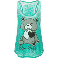 FULL TILT Bear Hugs Womens Tank