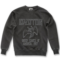 Mens Led Zeppelin 77 Charcoal    at thisispulp.co.uk
