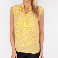 Plenty by Tracy Reese Women's Contemporary Printed Silk Blouse at Von Maur