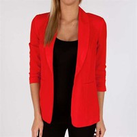 Kensie Women's Contemporary Woven Blazer at Von Maur