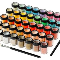 SHANY Cosmetics Mineral base Loose Pearl Eye Shadow Glitter/Eye Shadow 40pc