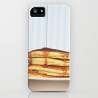 Wake Up and Smell the Pancakes iPhone & iPod Case by Beth - Paper Angels Photography
