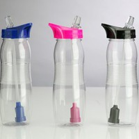 WaterU Fresh Sip Filtered Water Bottle with No Grip