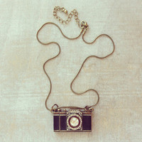 Pree Brulee - Darling Vintage Camera Necklace