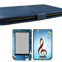 Bundle Monster Nook Tablet Nook Color Bundle Case Cover, Skin, Screen Guard PB23