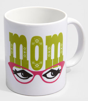 Mom&#x27;s Mug | Rock Scissor Paper Mom&#x27;s Glasses Mug | fredflare.com