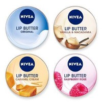 Amazon.com: Nivea Lip Butter - Set of 4: Beauty