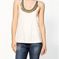 Sabine Embellished Knit Tank | Piperlime